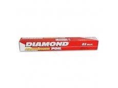 DIAMOND Aluminum Foil (Short) Roll 7.62m X 30.4cm