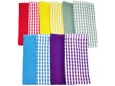 "COLOURED Checkered Cotton Kitchen Towel 15"" X 10""(632-A) Piece"