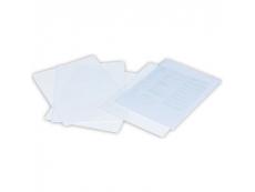 CLEAR HOLDER F4 PVC L SHAPE