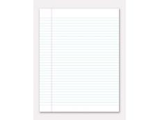 Kertas Kajang / Single Line Paper