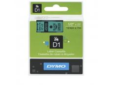 DYMO 12MM TAPE D1 12MMX7M