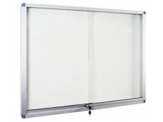 WHITEBOARD ALUMINIUM FRAME (CABINET WITH LOCK) MAGNETIC