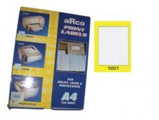 ARCO LASER/INKJET LABEL 1001