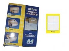 ARCO LASER/INKJET LABEL 1003