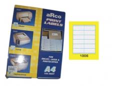 ARCO LASER/INKJET LABEL 1006
