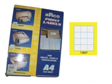 ARCO LASER/INKJET LABEL 1007