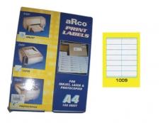 ARCO LASER/INKJET LABEL 1009