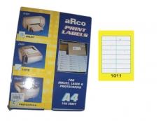ARCO LASER/INKJET LABEL 1011