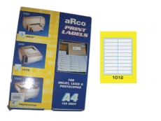 ARCO LASER/INKJET LABEL 1012