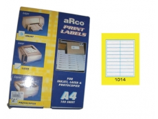 ARCO LASER/INKJET LABEL 1014