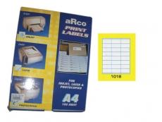 ARCO LASER/INKJET LABEL 1016