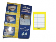 ARCO LASER/INKJET LABEL 1017