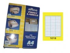 ARCO LASER/INKJET LABEL 1019