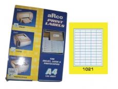 ARCO LASER/INKJET LABEL 1021