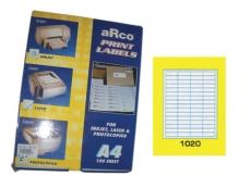 ARCO LASER/INKJET LABEL 1020