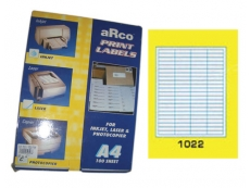 ARCO LASER/INKJET LABEL 1022