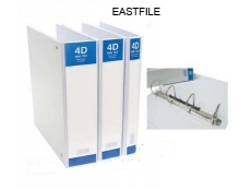 EASTFILE F1 4D RING FILE 25MM WITH FULL TRANSPARENT