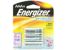 ENERGIZER ADVANCE LITHIUM Size AAA (4'S)