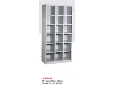 18 Pigeon Holes Cabinet PHC-18 1830H x 915W x 457D