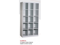 15 Pigeon Holes Cabinet PHC-15 1830H x 915W x 381D