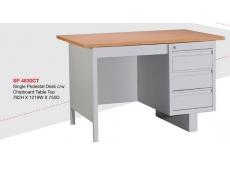 Steel Desk SP4830 c/w Chipboard Table Top