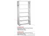 Library Shelving Single Sided- Steel End Panel