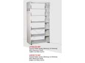 Library Shelving Double Sided- Steel End Panel