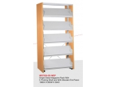 Periodical Magazine Shelving Wood End Panel  MS7836-5S-WEP