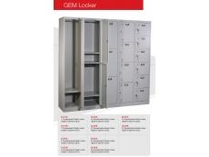 GEM Steel Locker