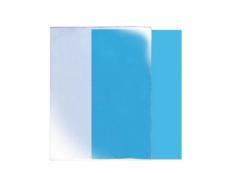 C SHAPE A4 CLEAR PLASTIC FOLDER