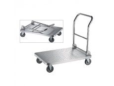 STAINLESS STEEL PLATFORM TROLLEY LD-PFT-1003 (Foldable Handle)