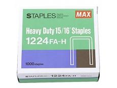 """Max Heavy Duty 15/16"""" Staples 1224FA-H"""