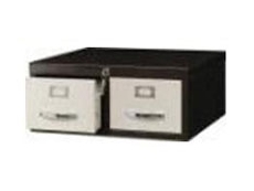 "2 Drawers Card Index Cabinet CI 2D 53 Card Size 5"" x 3"""