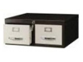 "2 Drawers Card Index Cabinet CI 2D 64 Card Size 6"" x 4"""