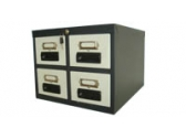 "4 Drawers Card Index Cabinet CI 4D 64 Card Size 6 "" x 4 """