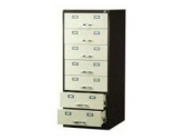 "7 Drawers Card Record Cabinet CR 785 Card Size 8"" x 5"""