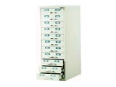 "11 Drawers Card Record Cabinet CR 1153 Card Size 5 "" x 3 """