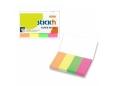 HOPAX STICK N PAPER INDEX 50 X20MM 4 PADS