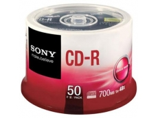 SONY CDR- 50 SPINDLE (700MB)