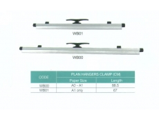 WriteBest Zeta Plan Hanger Clamps WB00 (A0-A1)