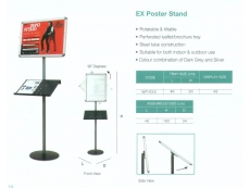 WriteBest EX Poster Stand WP-EX3 (size A3)