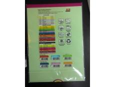 KB Product A4 PAPER 80GSM MIX COLOR IK  (30 SHEET)