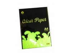 KB Product A4 PAPER 80GSM MIX COLOR CYBER (50 SHEET)