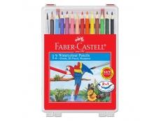 FABER CASTELL WATER COLOR PENCIL 12PCS 114562