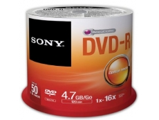 SONY DVD-R (50 PCS/SPINDLE)