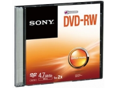 SONY DVD-RW + SINGLE CASING