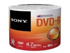 Sony DVD-R in Bulk- 50pcs