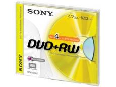 Sony DVD+RW in Slim Case - 1pc