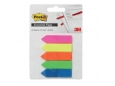 Post-it Economic Flags Assorted 5 Colours with Arrow