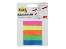 Post-it Economic Flags Assorted 5 Colours